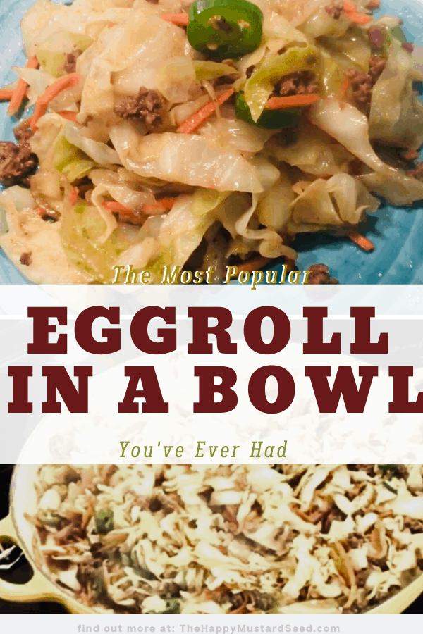 Best eggroll in a bowl.