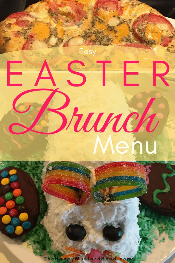 Easy Easter Brunch Menu