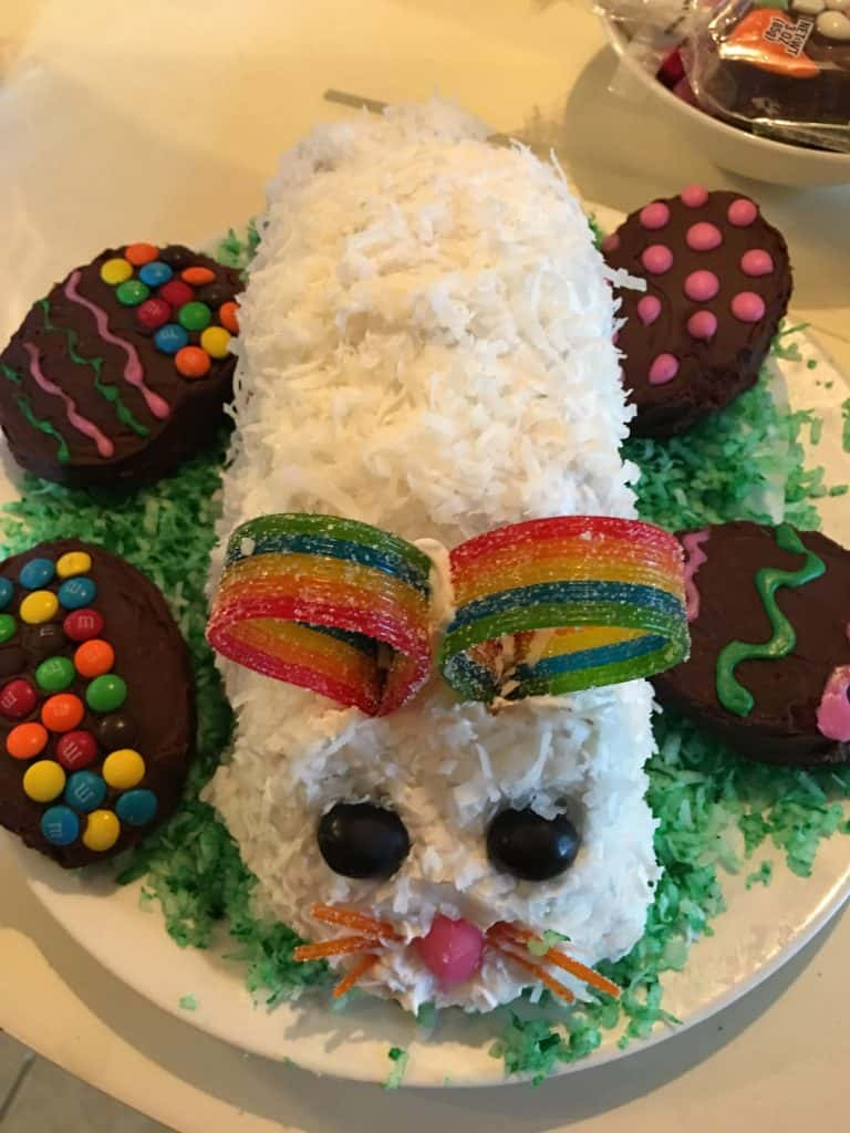 Easter Brunch Bunny Cake