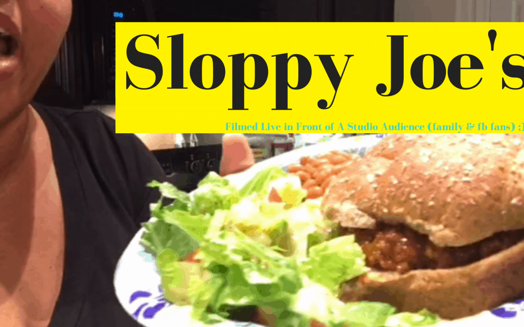 Homemade Sloppy Joe's