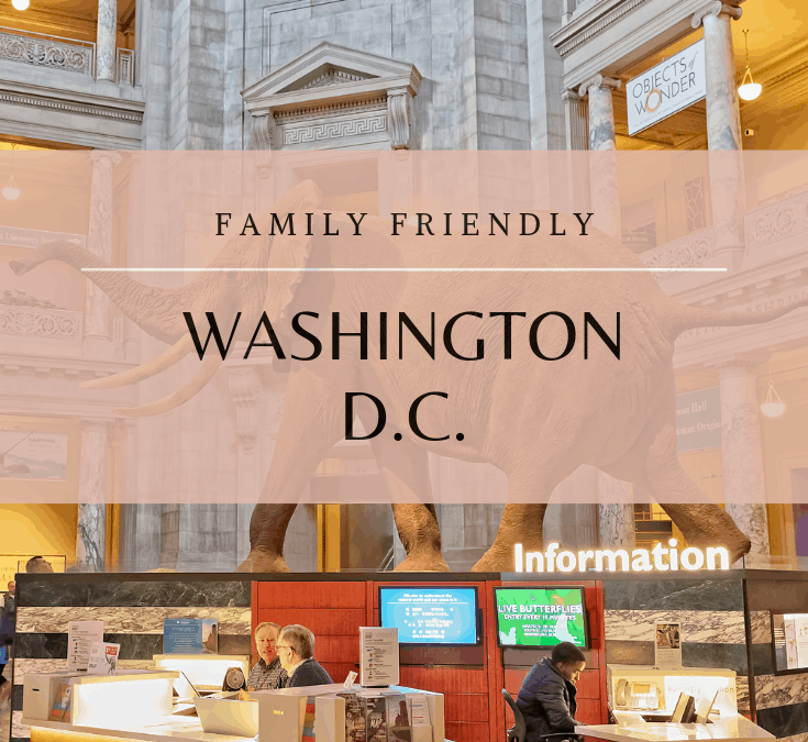 No Stress, Family Friendly  – Washington D.C