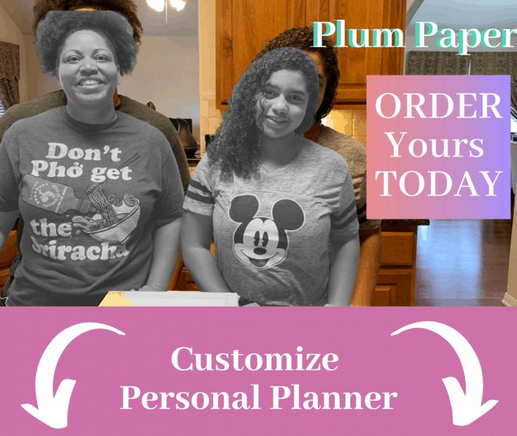 Plum Paper Planner, Customize planner, planner, happy planner