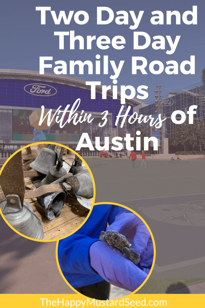Two Day and Three day family road trips,