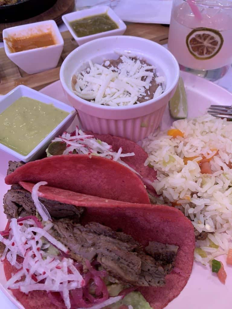 Taquero Mucho Meal Austin Texas