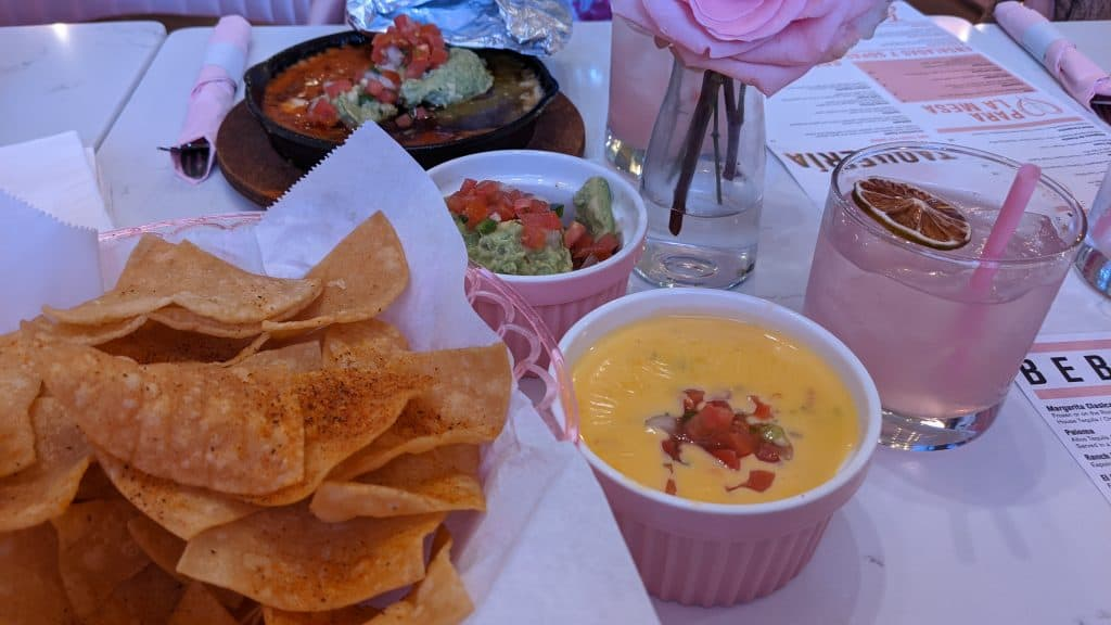 Taquero Mucho Austin Texas chips and dip