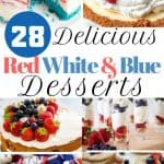 700x1500 Delicious Red White Blue Desserts