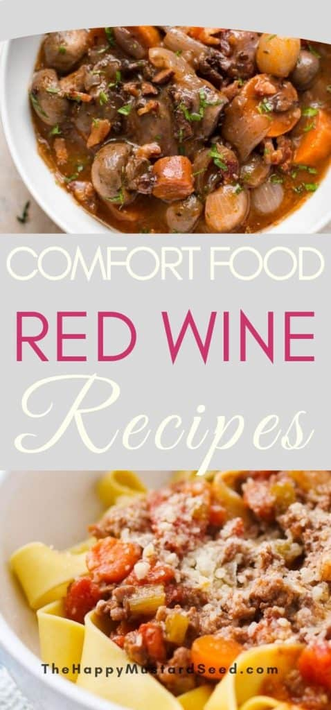 Red Wine Recipes Comfort Food