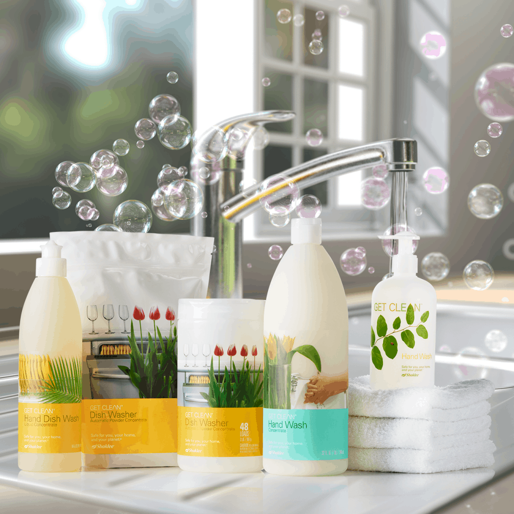 Get Clean Shaklee, green cleaner, all natural cleaner, healthy home