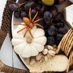 Halloween Cheese Board Charcuterie
