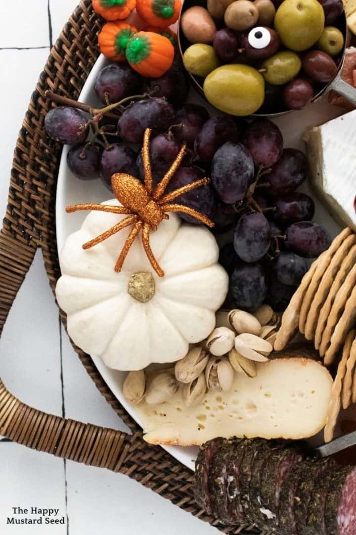 Halloween Cheese Board Charcuterie