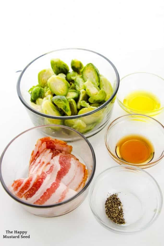 brussel sprouts recipe ingredients