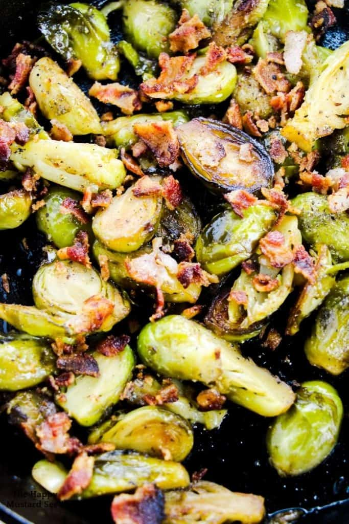 brussel sprouts recipe with bacon