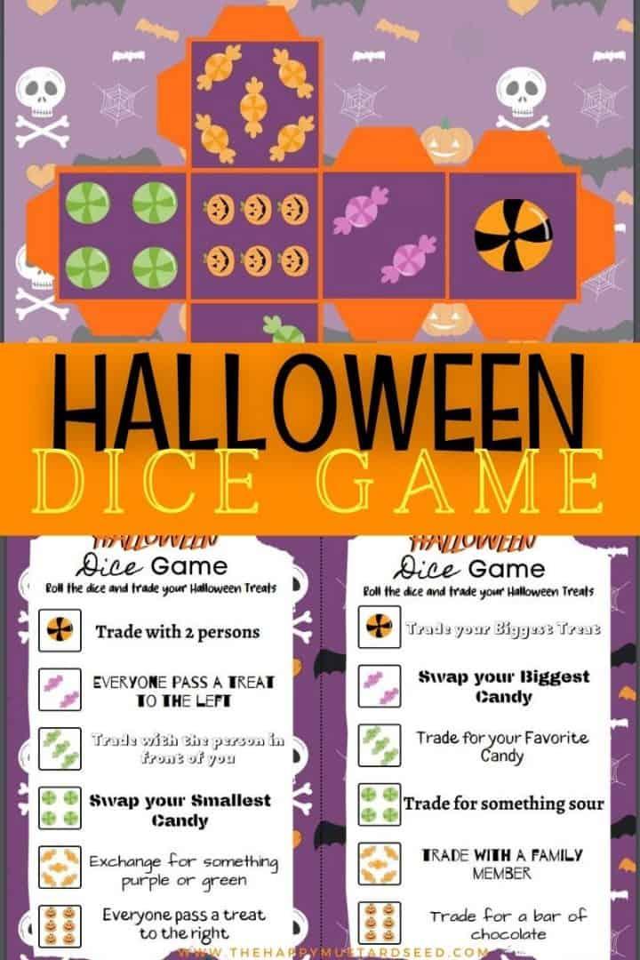 Halloween Dice Games For Kids