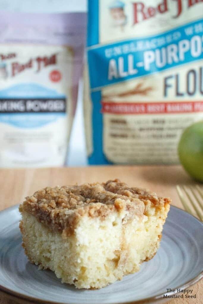 apple crumb cake Bob's Red Mill Ingredients