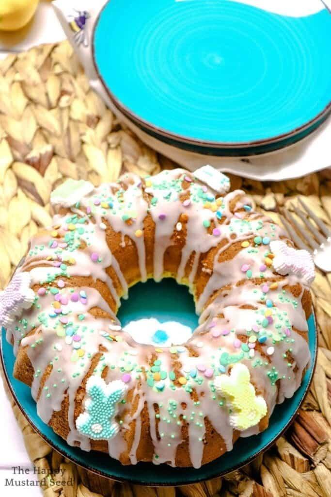 Lemon Poppy Seed Bundt Cake Lemon Poppy Seed Cake Easter Bundt Cake Recipe