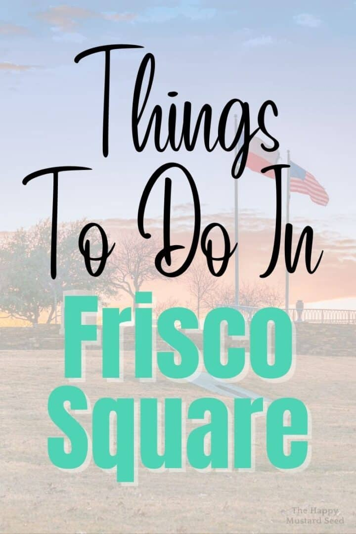Things To Do In Frisco Texas