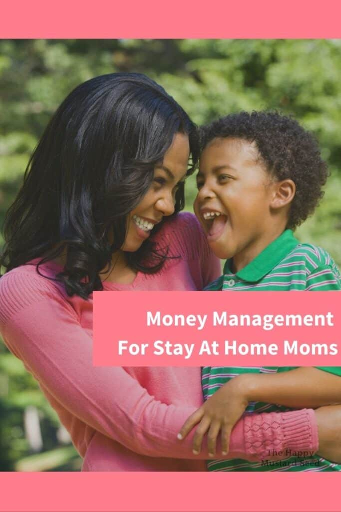 Money Management for Stay At Home Mom