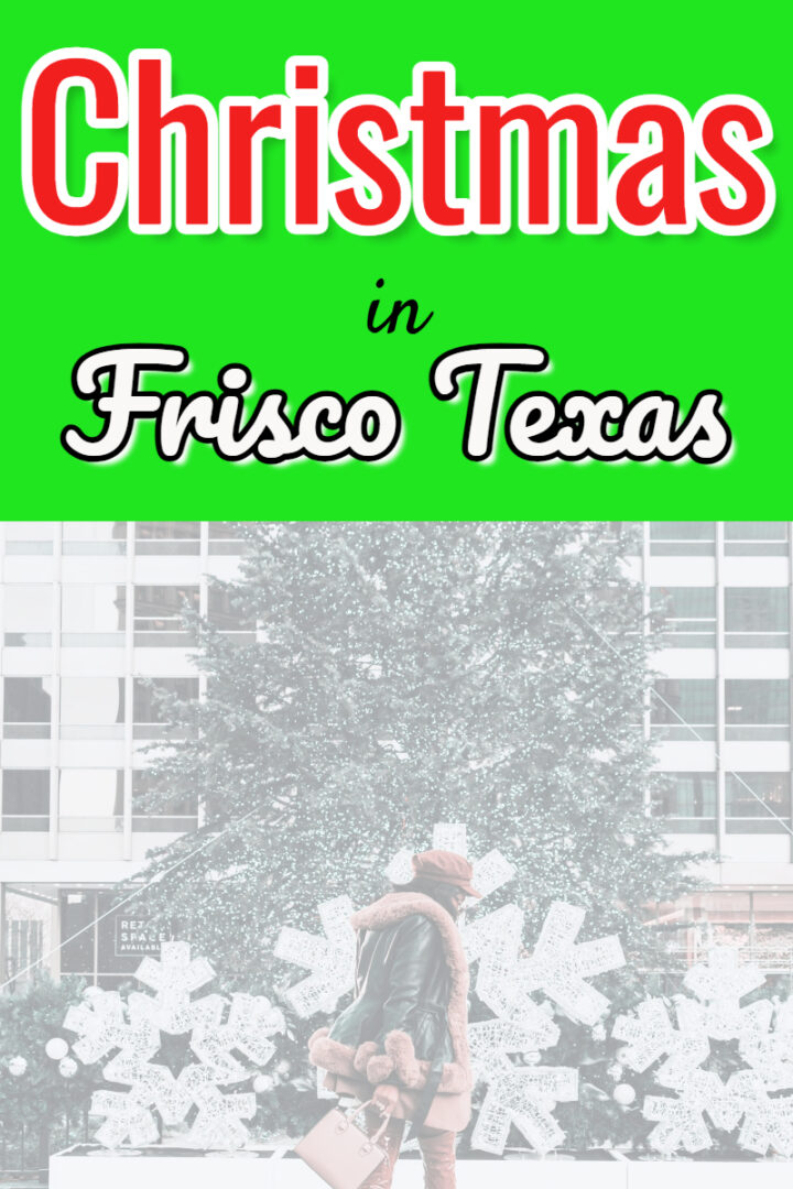 Christmas-things to do in Frisco Tx