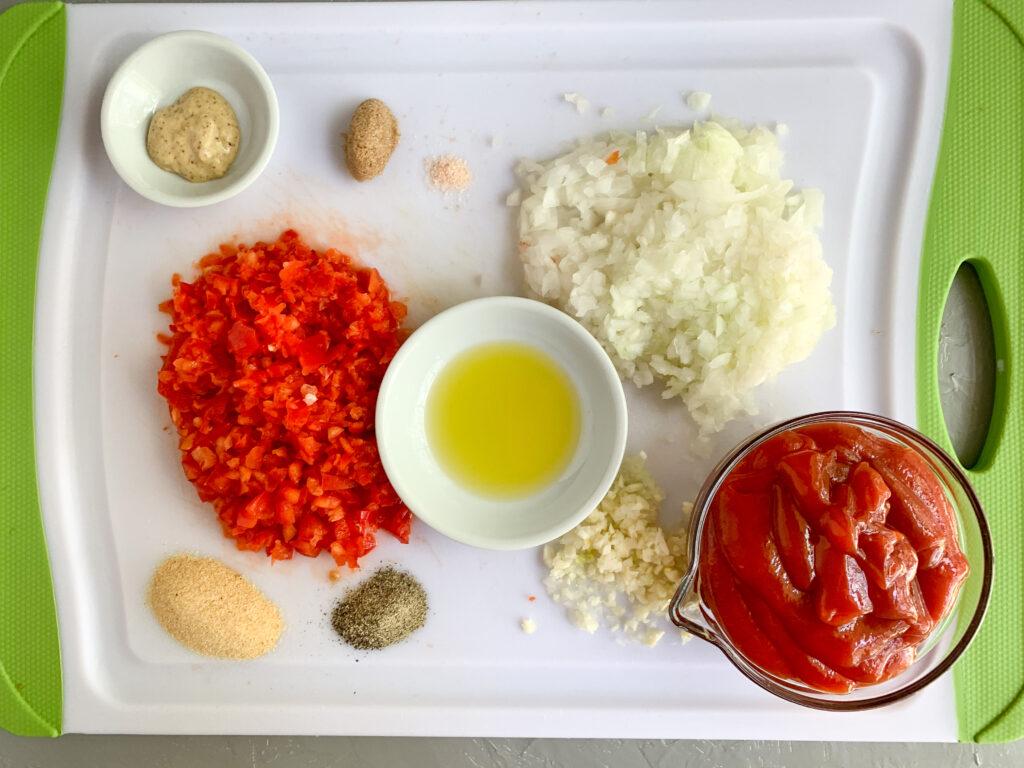 Sloppy Joes-ingredients-ingredients-ketchup-brown-sugar-mustard