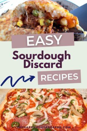 sourdough discard dinner recipes