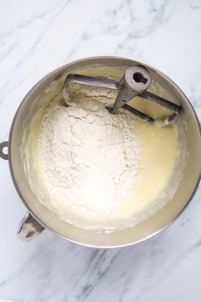 Sourdough-Monkey-Bread-mixing