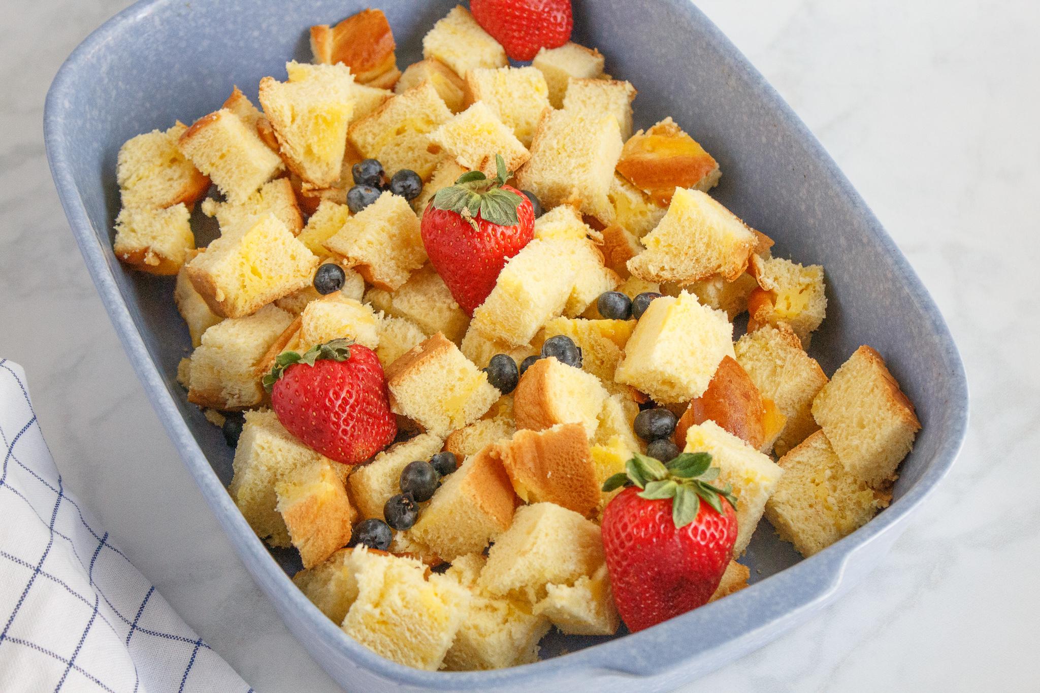 brioche French toast casserole
