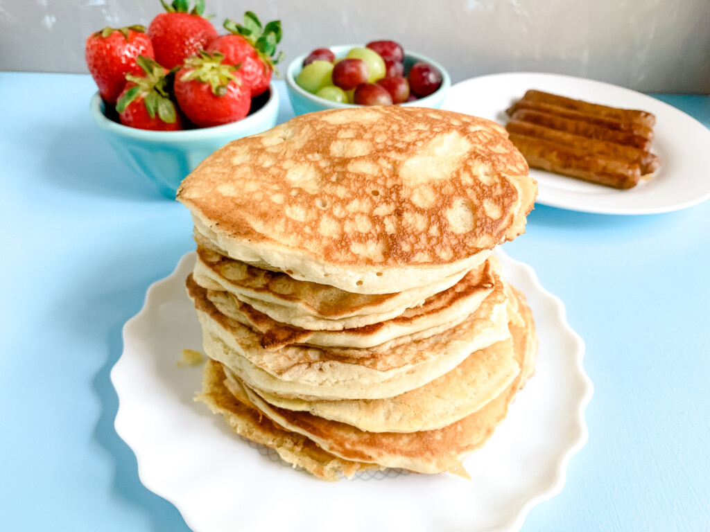 Sourdough-Pancakes-Strawberries-Fresh-Fruit