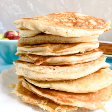 Sourdough-Pancakes-stacked