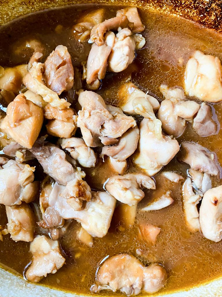 sesame chicken in the Crockpot
