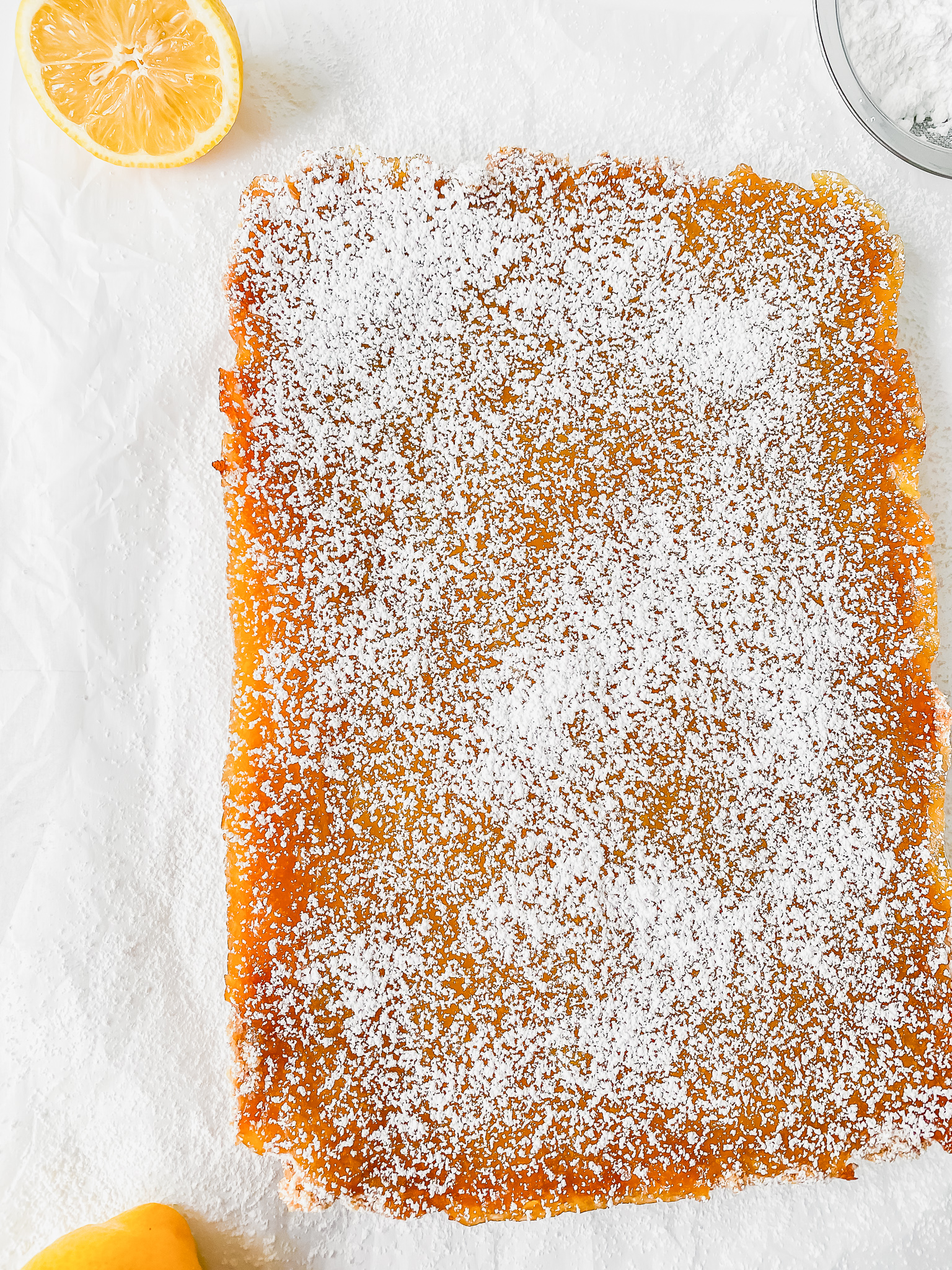 This easy lemon bars recipe is so good! Made with lemon curd, brown sugar, and crushed graham crackers, these chewy lemon squares are the ultimate dessert for any day.