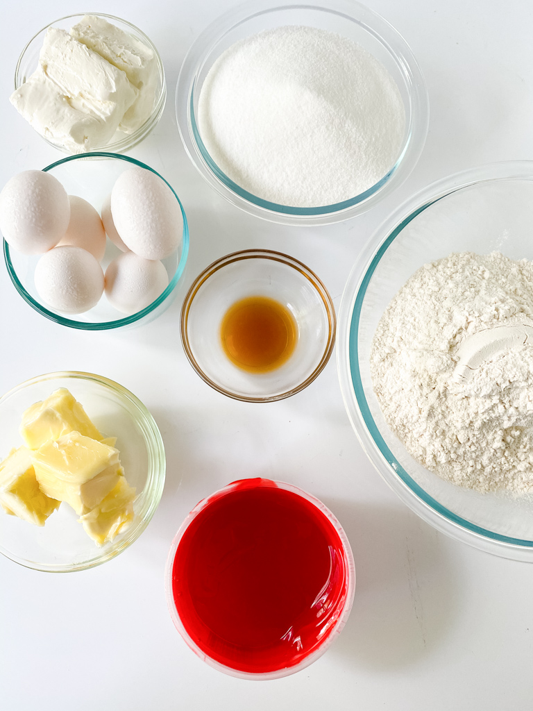 strawberry pound cake ingredients