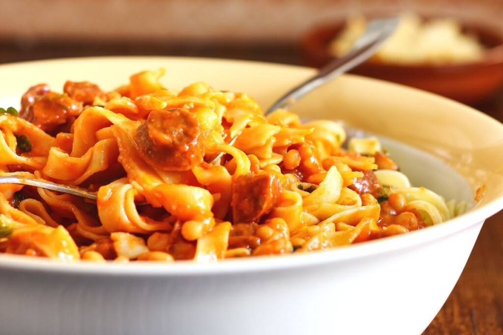Baked-Beans-and-Pasta